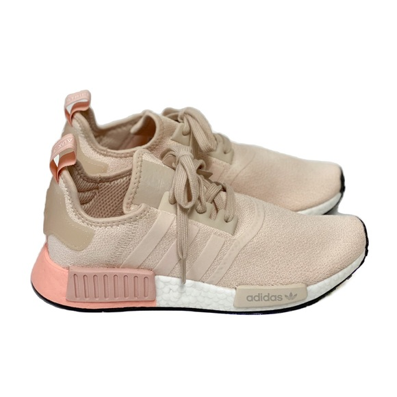 New Adidas Nmd R Tan Pink Ee5179